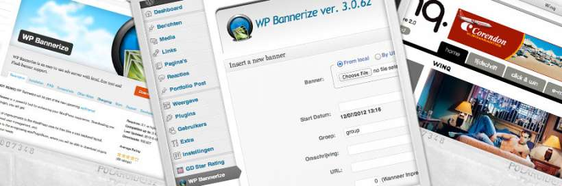 Bannermanagement plug-in WordPress