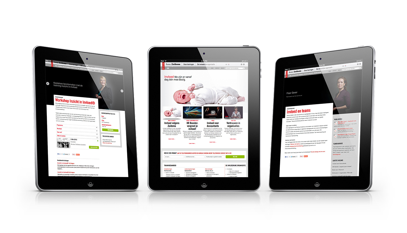 Nieuwe website bureau zuidema memento for Bureau zuidema inzicht in invloed